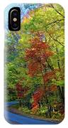 North Of The Folk Art Center In Fall IPhone Case