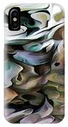 North Shore Abstract Wild Flowers IPhone Case