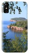 North Shore Lake Superior IPhone Case