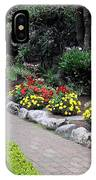 North Vancouver Garden IPhone Case