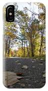 North Woods Road Two IPhone Case