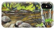 Northerm Stream Woodland Created By Richard T Pranke IPhone Case