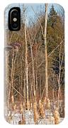 Northern Forests Ghost In-flight IPhone Case