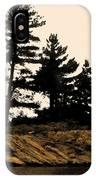 Northern Silhouette IPhone Case