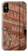 Nostalgic Painted Advertising IPhone Case