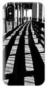 Nostalgic Walk On The Pier IPhone Case
