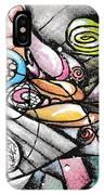 Note Card Art IPhone Case