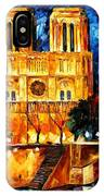 Notre Dame De Paris IPhone Case