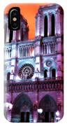 Notre Dame De Paris Pop Art 2012 IPhone Case