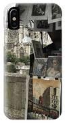 Notre Dame Street Art IPhone Case