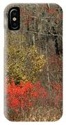 November Flame IPhone Case