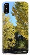 November Gold IPhone Case