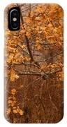 November Oak IPhone Case