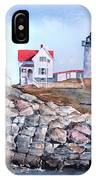 Nubble Lighthouse - Maine IPhone Case