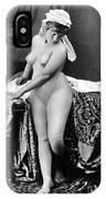 Nude In Bonnet, C1885 IPhone Case