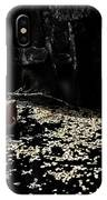 Nude In Monochrome  Leaf Pool IPhone Case