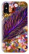 Nujabes' Feather IPhone Case
