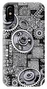 Nuts And Bolts IPhone Case by Eleni Mac Synodinos