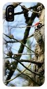 Nuttalls Woodpecker  IPhone Case