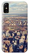 Ny Skyline View IPhone Case