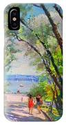 Nyack Park A Beautiful Day For A Walk IPhone Case