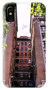Nyc Building With Tree Overhang IPhone Case