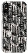 Nyc Fire Escapes IPhone Case