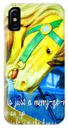 Nyc Golden Steed Quote IPhone Case
