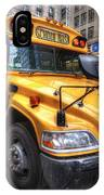 Nyc School Bus IPhone Case