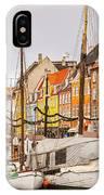 Nyhavn Area Copenhagen IPhone Case