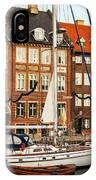 Nyhavn Area Of Copenhagen IPhone Case
