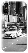nypd traffic cop on Times Square New York City USA IPhone Case