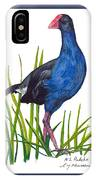 Nz Native Pukeko Bird IPhone Case