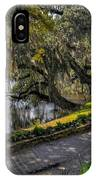 Oak And River Path IPhone Case
