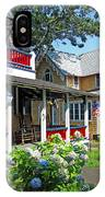 Oak Bluffs Gingerbread Cottages 1 IPhone Case