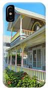 Oak Bluffs Gingerbread Cottages 5 IPhone Case