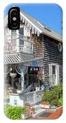Oak Bluffs Gingerbread Cottages 8 IPhone Case