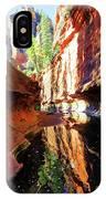 Oak Creek Canyon 1 IPhone Case