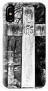 Oak Hill Cemetery Crosses #2 IPhone Case