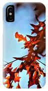 Oak Leaves 2 IPhone Case