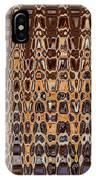 Oak Stump Abstract IPhone Case