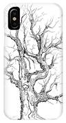 Oak Tree Abstract Study IPhone Case