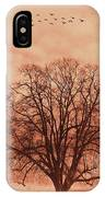 Oak Tree Alone  IPhone Case