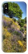 Oak Tree And Wildflowers IPhone Case