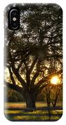 Oak Tree Sunset IPhone Case