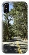 Oak Trees Along Live Oak Canyon Road IPhone Case