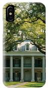 Oak Trees In Front Of A Mansion, Oak IPhone Case