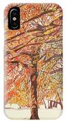 Oak Trees In The Park IPhone Case