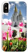 Oakland Pink Tulips IPhone Case