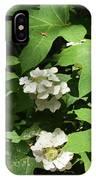 Oakleaf Hydrangea Floral IPhone Case